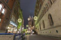 Markt de la Navidad en Hannover Foto de archivo libre de regalías