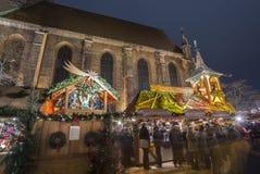 Markt de la Navidad en Hannover Imagen de archivo libre de regalías