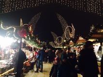 markt de los weihnachts Imagen de archivo libre de regalías