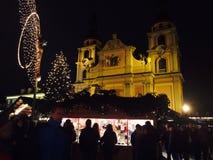 markt de los weihnachts Fotos de archivo libres de regalías