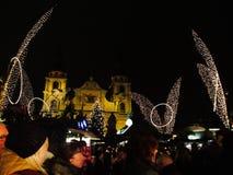 markt de los weihnachts Foto de archivo libre de regalías