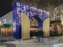 Markt de Noël à Hanovre Image libre de droits