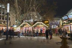 Markt de Noël à Hanovre Photos stock
