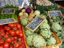 Markt de Provence stock foto