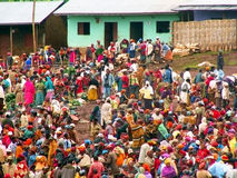 Markt in Ethiopië Stock Afbeelding
