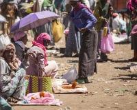 Markt in Ethiopië Royalty-vrije Stock Afbeelding