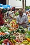 Markt in Funchal, Madera Stock Afbeelding