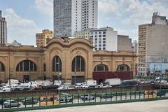 Markt gemeentelijk in de stad van Sao Paulo Stock Foto