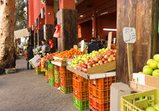 Markt Hadera Israël Royalty-vrije Stock Afbeelding