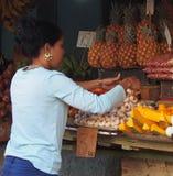 Markt im Freien in Havana Cuba Stockfoto