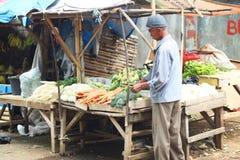 Markt in Indonesië stock foto