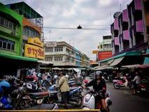 Markt in land Stock Afbeeldingen