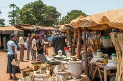 Markt in Livingstone Lizenzfreies Stockfoto