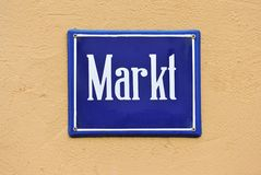 Markt - Market Royalty Free Stock Images