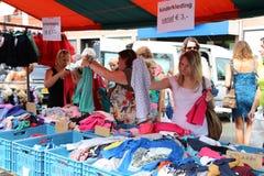 Markt (marknad) Royaltyfri Foto