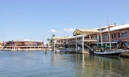 Markt Miami-Bayside stockbild