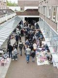 Markt mit benutztem Produkt auf kingsday Holland Lizenzfreie Stockfotos