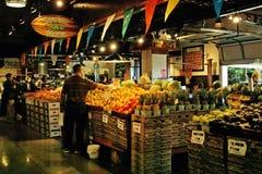 Markt, Nord-Vancouver B.C., Kanada Stockbilder