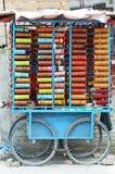 Markt op de straat Royalty-vrije Stock Foto's