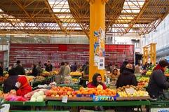 Markt op de straat van Sarajevo, bosnia Stock Foto's