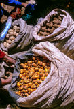 Markt Peru royalty-vrije stock foto