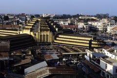 Markt Phnom Penh, Kambodscha Stockbild