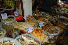 Markt, Serian, Borneo, Sarawak, Maleisië royalty-vrije stock afbeelding