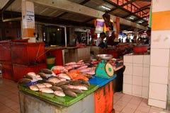 Markt, Serian, Borneo, Sarawak, Maleisië stock foto