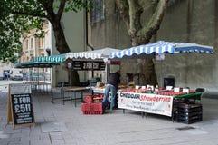 Markt-Ställe Stockbild