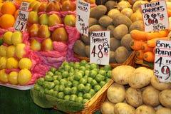 Markt-Strömungsabriß Stockfotografie