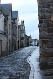 Markt-Straße Stockbild