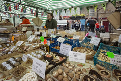 Markt-Tag - Malton - Yorkshire - England Lizenzfreie Stockfotos