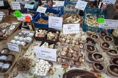 Markt-Tag - Malton - Yorkshire - England Stockfoto