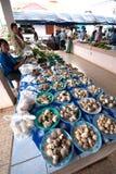 Markt in Thailand. Stock Foto's