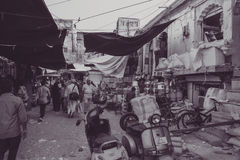 Markt van Jodhpur in Rajasthan, India Stock Afbeelding