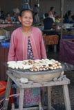 Markt, Vientiane, Laos, Asien Lizenzfreie Stockfotografie