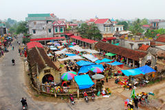 Markt in Vietnam Stockbilder