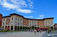 Markt in Vittorio Emanuelle-vierkant Royalty-vrije Stock Afbeelding