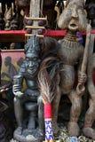 Markt von Handwerkkünsten, Douala, Cameroun Stockbild