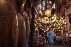 Markt von Lampen stockfotos