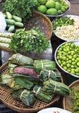 Markt in Yangon, Birma royalty-vrije stock foto