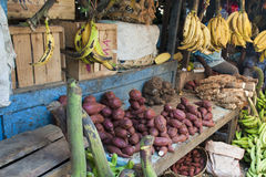 Markt in Zanzibar Stock Afbeeldingen