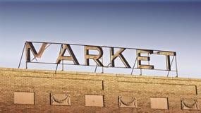 Markt-Zeichen Lizenzfreie Stockbilder