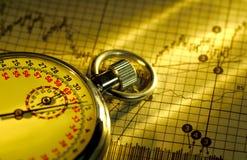 Markt-Zeitbegrenzung Lizenzfreies Stockfoto