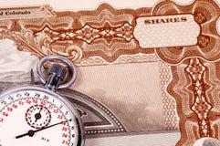 Markt-Zeitbegrenzung Lizenzfreie Stockbilder