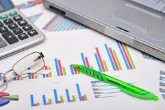 Marktanalysekonzept Stockbilder