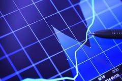 Marktanalysen, Stock Abbildung