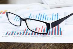 Marktbericht Stockfoto