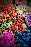 Marktbloemen Royalty-vrije Stock Fotografie