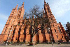 Marktchurch in Wiesbaden Royalty Free Stock Photo